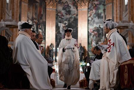 Ordenación Caballeros del Santo Sepulcro