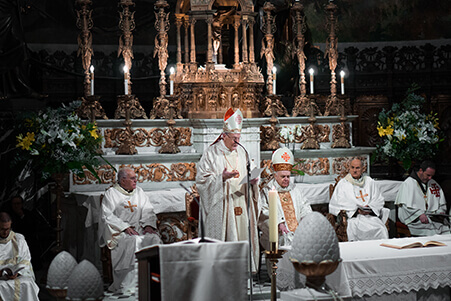 Ordenación Damas y Caballeros del Santo Sepulcro